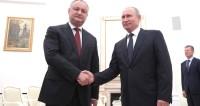 Додон – Путину: За Россию на ЧМ болела вся Молдова