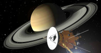 Зонд Cassini записал «разговор» Сатурна и Энцелада