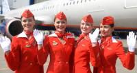 Показ униформы авиакомпаний-партнеров аэропорта Домодедово DME RUNWAY в преддверии Дня бортпроводника