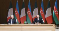 Президент Италии наградил Ильхама Алиева орденом