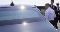 Путин использовал лимузин «Кортеж» для поездки по Хельсинки