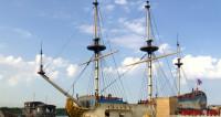 В Кронштадт на репетицию Дня ВМФ прибыл линкор «Полтава»