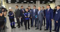 Назарбаев изучил продукцию предприятий Павлодарской области