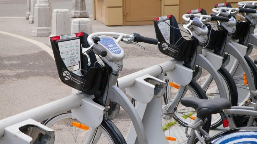 Московский велопрокат стал популярнее в два раза