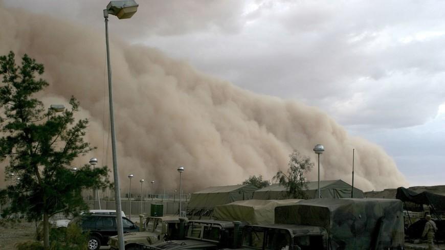 Мощная песчаная буря накрыла американскую Аризону (ВИДЕО)