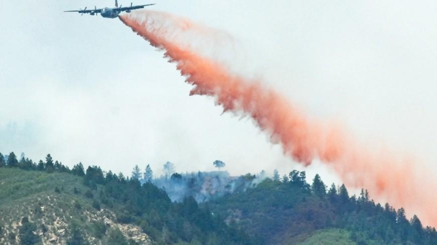 """Фото: """"Thomas Doscher, официальный сайт Минобороны США"""":http://www.defense.gov/, лесной пожар"""