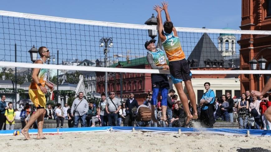 Фестиваль День России. Пляжный теннис и волейбол