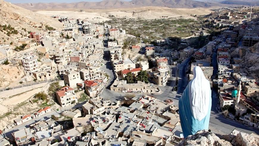 """Фото: Сергей Любавин (МТРК «Мир») """"«Мир 24»"""":http://mir24.tv/, сирийский город, сирия, гражданская война"""