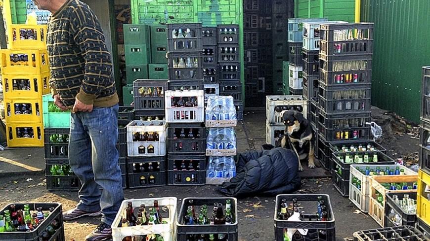 """Фото: Владимир Свояченко, """"МТРК «Мир»"""":http://mir24.tv/, бутылки, стеклотара, прием стеклотары"""