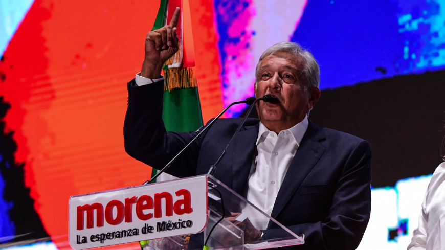 Президент Мексики Обрадор пригласил Путина на свою инаугурацию
