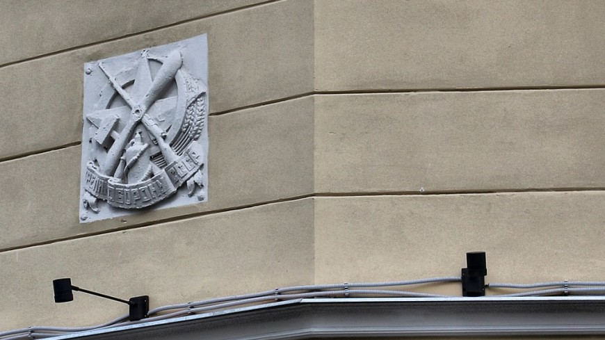 В Москве восстановят гипсовые знаки ОСОАВИАХИМа на домах