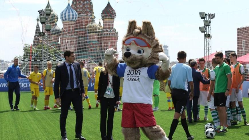 Артисты и политики России и Катара сыграют в футбол на Красной площади