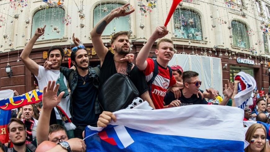 «Жара» на Воробьевых горах: болельщики готовы к победе сборной России
