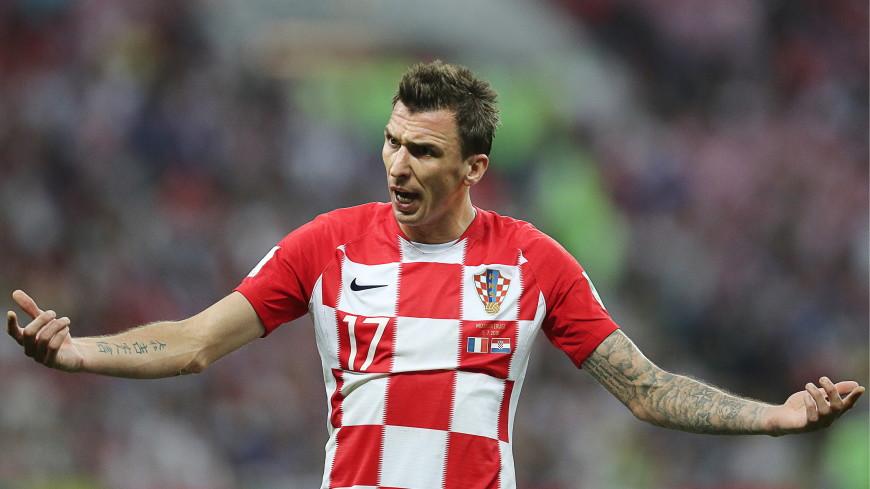 Второй гол хорватов в финале ЧМ: Манджукич выбил мяч у вратаря