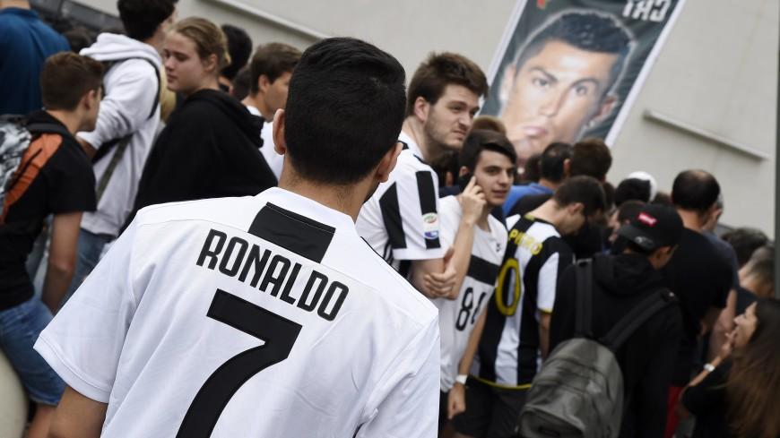 «Ювентус» за один день продал футболок Роналду на €55 млн
