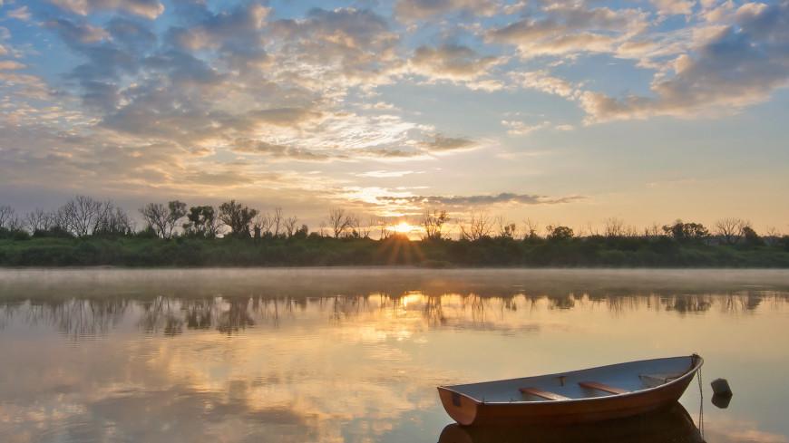 Фото на лодке
