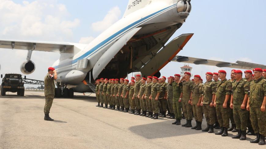 В Россию из Сирии вернулись 200 военных полицейских ЮВО