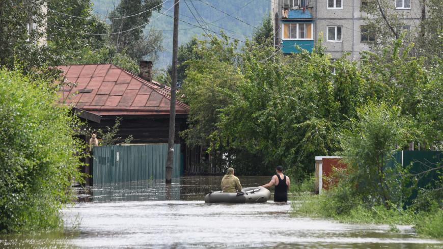 Глава Забайкалья Жданова выехала в пострадавшие от паводка районы