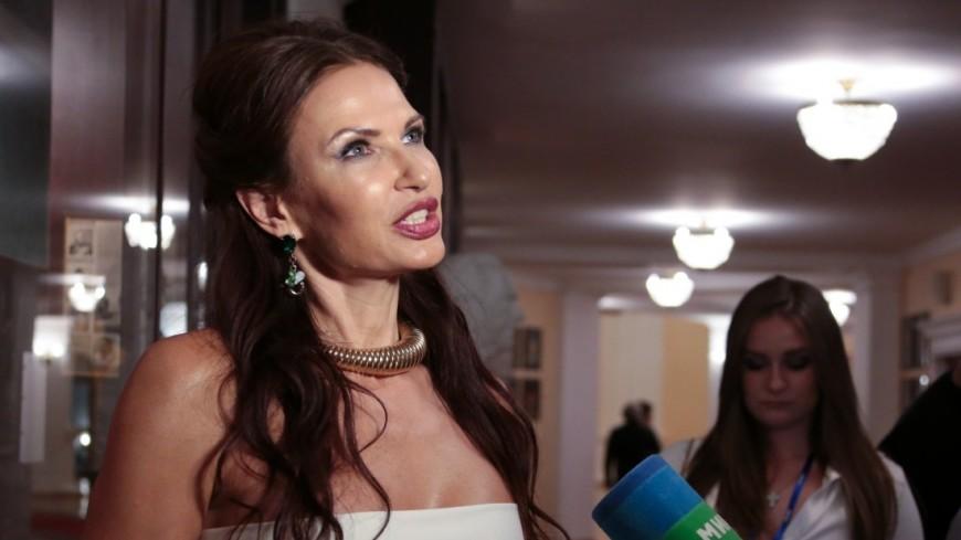 Эвелина Бледанс на юбилейном концерте Гоши Куценко