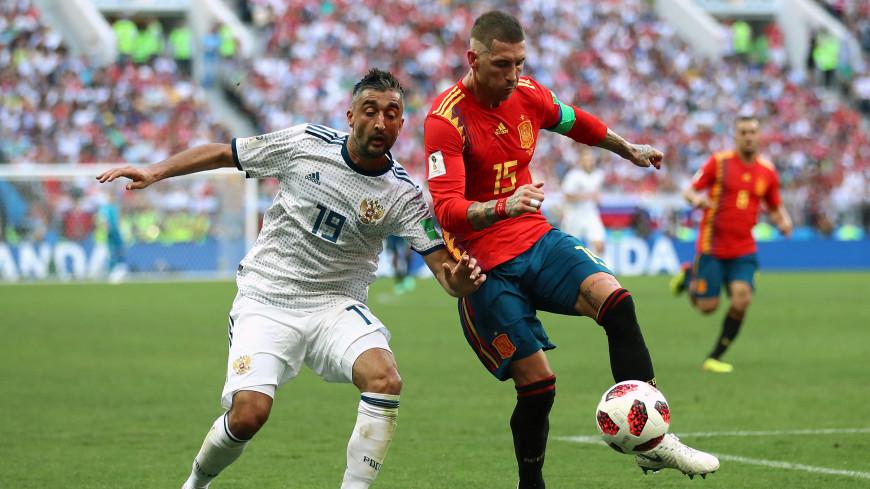 Накал эмоций: зрелищный матч России и Испании собрал аншлаг