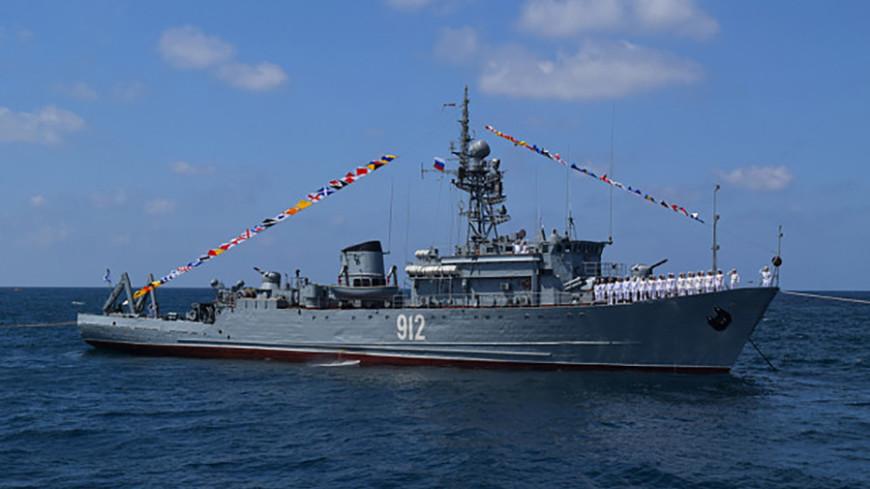 Морской парад в честь Дня ВМФ России прошел в сирийском Тартусе