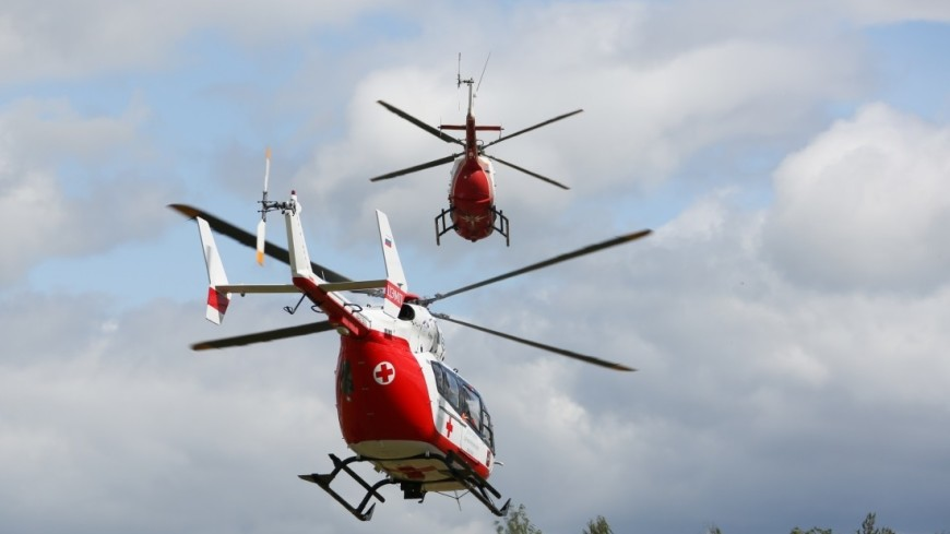 Скорая помощь, Вертолет