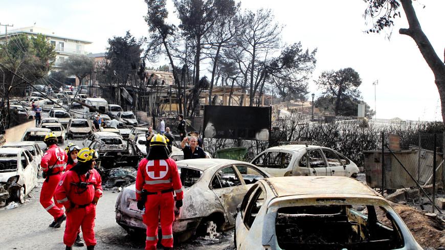 Число жертв пожаров в Греции выросло до 79