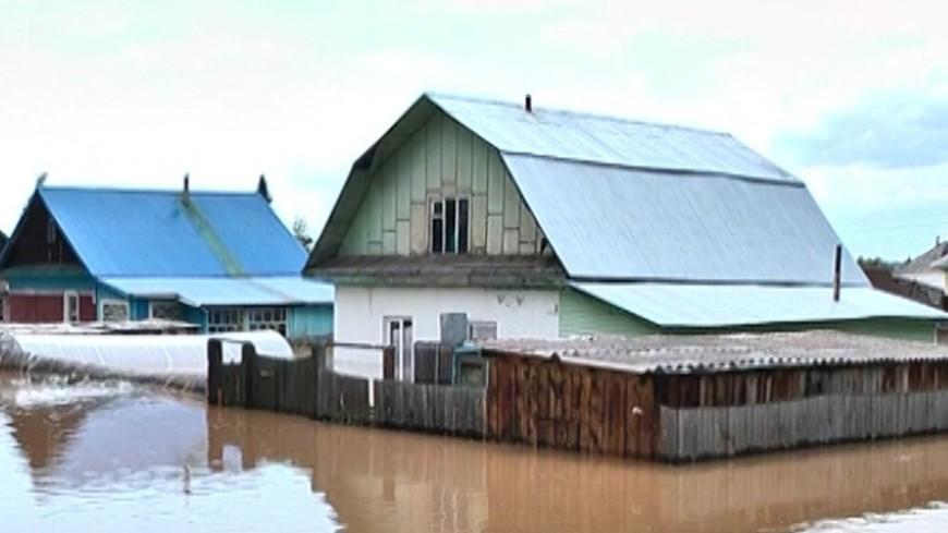 """Скриншот: """"«МИР 24»"""":http://mir24.tv/, алтай, наводнение"""