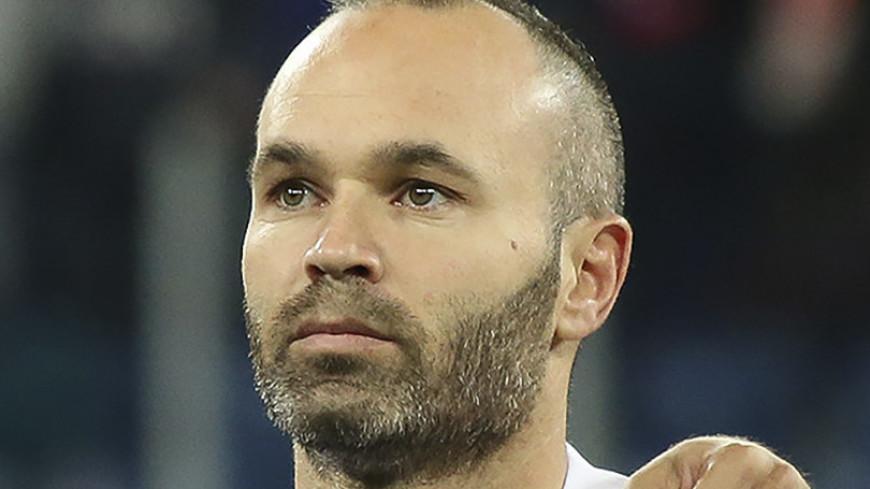 После матча с Россией Иньеста объявил об уходе из сборной Испании