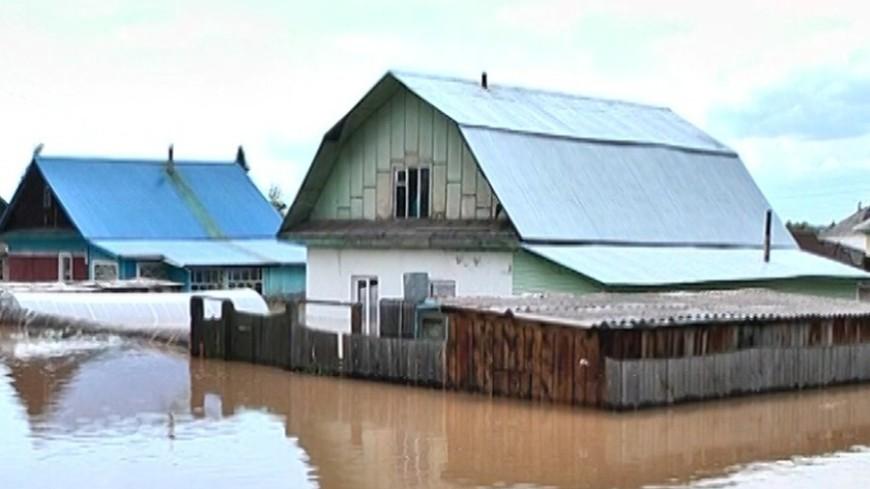 Забайкалье уходит под воду: размыты дороги, тонут города и села