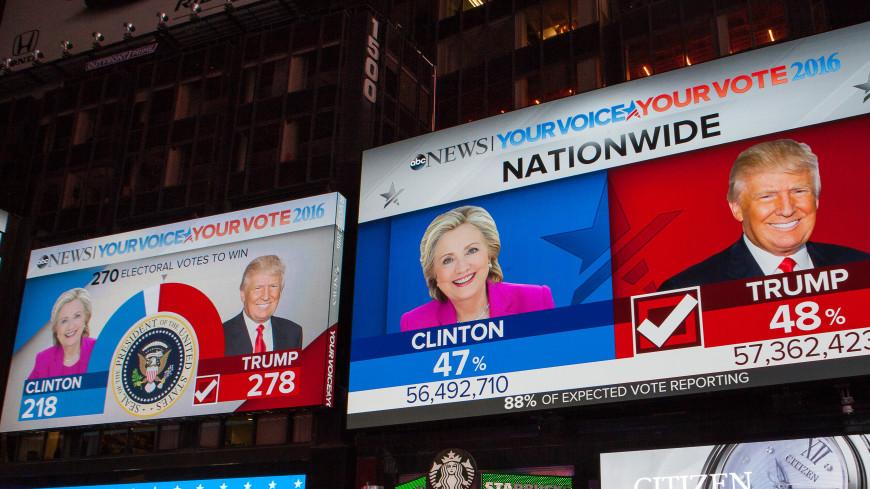 Жителей США не заинтересовало «российское вмешательство» в выборы