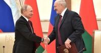 Подписание документов по итогам заседания Высшего Государственного Совета Союзного государства. C Президентом Белоруссии Александром Лукашенко.