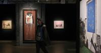 Открытие выставки стрит-арт художника Бэнкси в ЦДХ