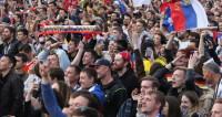 В Петербурге надеются на выход России в полуфинал