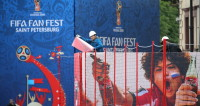 В Петербурге готовят фан-зону для чемпионата мира по футболу