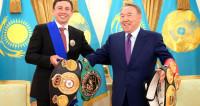 Назарбаев вручил Головкину орден первого президента Казахстана