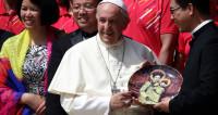 Папа римский поприветствовал участников ЧМ-2018