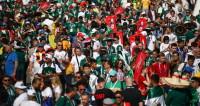 В Москве мексиканцы устроили пляски в поддержку своей сборной