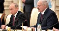 С Президентом Белоруссии Александром Лукашенко на заседании Высшего Государственного Совета Союзного государства.