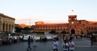 Площадь республики в городе Ереван,Армения, Площадь республики, Ереван, Правительство Армении,