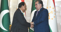 Президент Пакистана прибыл в Таджикистан