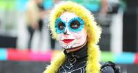 Москва веселилась в День мертвых (ФОТО)