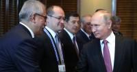 Встреча с Президентом Узбекистана Шавкатом Мирзиёевым.