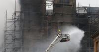 Сгоревшая в Глазго школа находилась на реставрации после пожара 2014-го