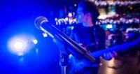 концерт, музыка, выступление, сцена, музыкальные инструменты