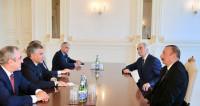 Алиев принял в Баку российскую делегацию во главе с Володиным