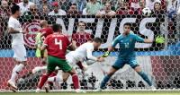 Это футбол: марокканские болельщики стойко приняли удар от Роналду
