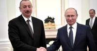 Путин: Отношения России и Азербайджана развиваются очень успешно
