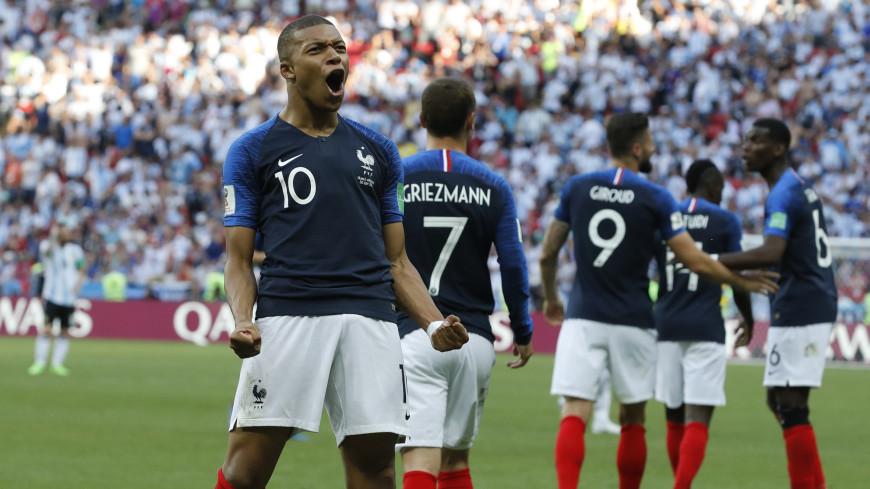 Молодой Мбаппе стал лучшим игроком матча Франция-Аргентина