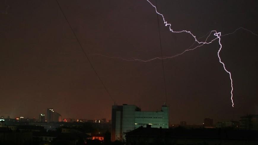 © Фото: «Мир 24», гроза, молния